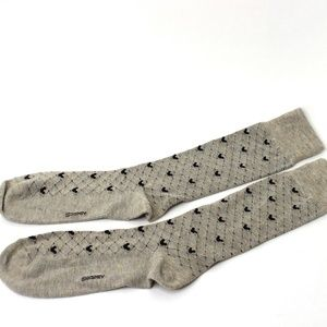 Disney Mickey Mouse Diamond Socks Vintage NWOT